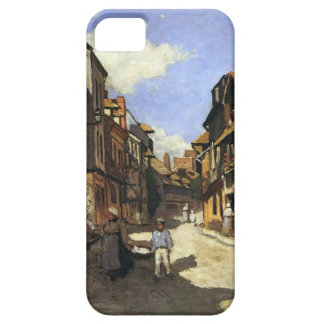 High Res Monet La Rue Bavolle at Honfleur iPhone SE/5/5s Case