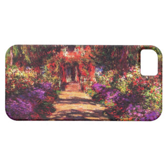High Res Monet Path iPhone SE/5/5s Case