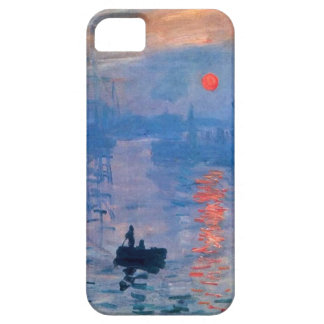 High Res Monet Sunrise iPhone SE/5/5s Case