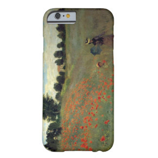 High Res Monet Wild Poppies near Argenteu Barely There iPhone 6 Case
