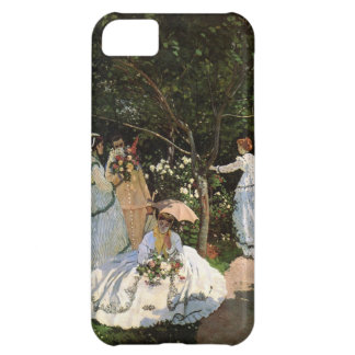 High Res Monet Women In The Garden Case For iPhone 5C