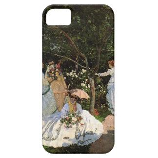 High Res Monet Women In The Garden iPhone 5 Case