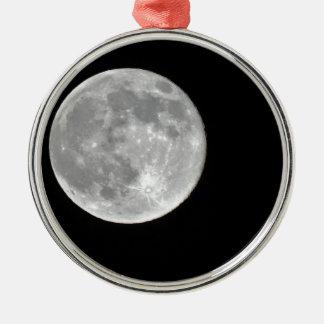 High resolution Full Moon Photo Ornament
