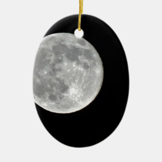 High resolution Full Moon Photo Ornaments