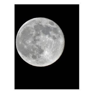 High resolution Full Moon Photo Postcard