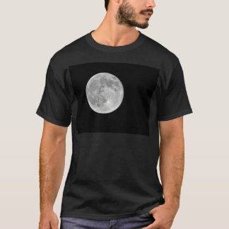 High resolution Full Moon Photo T-Shirt
