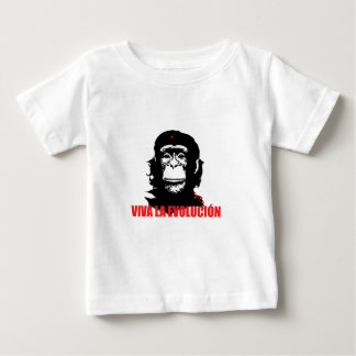High Resolution Viva La Evolución Baby T-Shirt