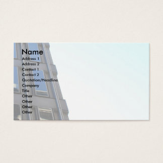 High Rise Building Business Card