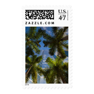 High rise buildings postage