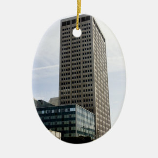 High Rise in San Francisco Christmas Tree Ornaments