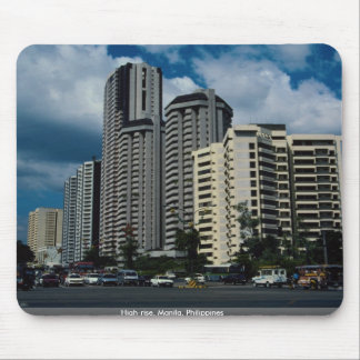 High-rise Manila Philippines Mouse Pad