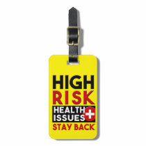 High Risk Health Issues Awareness Tag
