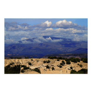 High Road to Taos, New Mexico Poster