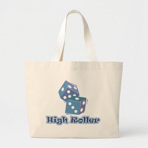 High Roller - Dice Games Jumbo Tote Bag