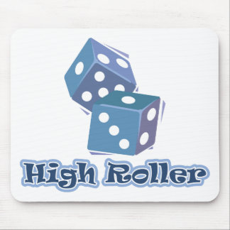 High Roller - Dice Games Mouse Pad