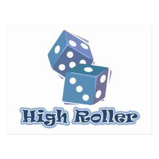 High Roller - Dice Games Postcard