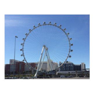 High Roller Ferris Wheel Las Vegas #2 Postcard