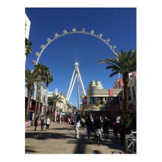 High Roller Ferris Wheel Las Vegas Postcard