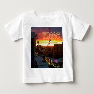 High Roller Ferris Wheel Sunrise in Vegas Baby T-Shirt