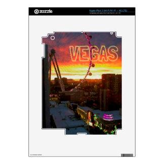 High Roller Ferris Wheel Sunrise in Vegas iPad 3 Skin