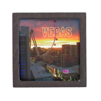 High Roller Ferris Wheel Sunrise in Vegas Jewelry Box