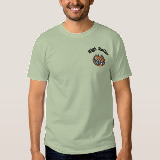 High Roller Gamblers Embroidered Shirt