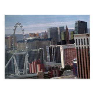 High Roller & Las Vegas Center Strip Postcard