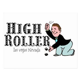 High Roller! - Las Vegas Postcard