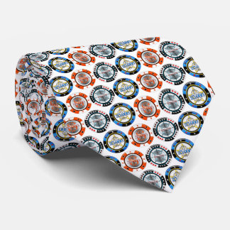 High Roller Poker Chips Tie