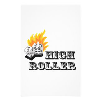 high roller stationery paper
