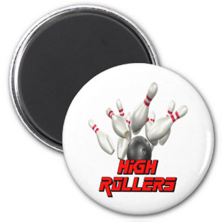 High Rollers Bowling Magnets