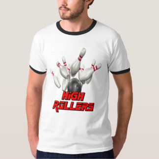 High Rollers Bowling T Shirts