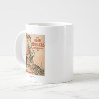 "High Rollers Extravaganza ""Mamie Lamb"" Play 20 Oz Large Ceramic Coffee Mug"