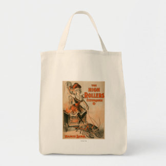 """High Rollers Extravaganza """"Mamie Lamb"""" Play Grocery Tote Bag"""