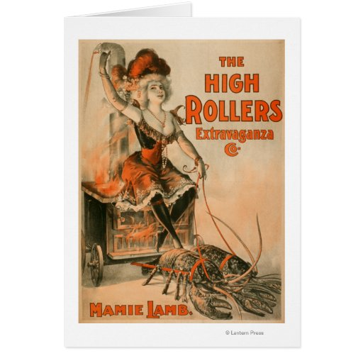 """High Rollers Extravaganza """"Mamie Lamb"""" Play Cards"""