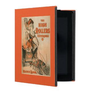 "High Rollers Extravaganza ""Mamie Lamb"" Play iPad Folio Cases"