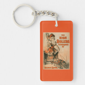 "High Rollers Extravaganza ""Mamie Lamb"" Play Keychain"