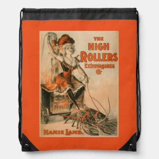 "High Rollers Extravaganza ""Mamie Lamb"" Play Backpacks"