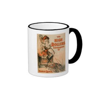 "High Rollers Extravaganza ""Mamie Lamb"" Play Ringer Coffee Mug"