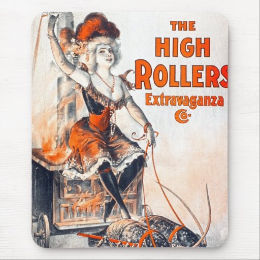 High Rollers Extravaganza Mouse Pad