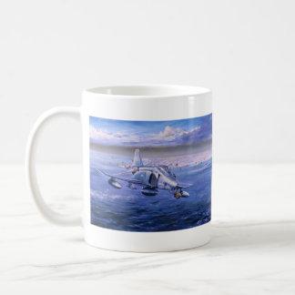High Rollers over Kuwait by Rick Herter Classic White Coffee Mug