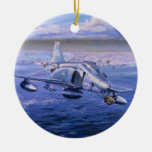 High Rollers over Kuwait by Rick Herter Christmas Tree Ornament