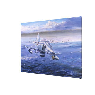 High Rollers over Kuwait by Rick Herter Print Canvas Print
