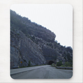 High Rolls Mountain Tunnel New Mexico Mouse Pad