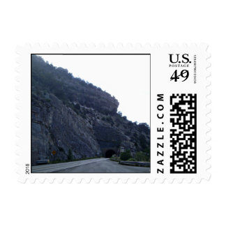 High Rolls Mountain Tunnel New Mexico Postage