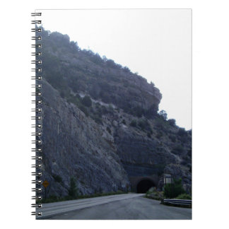 High Rolls Mountain Tunnel New Mexico Spiral Notebooks