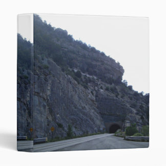 High Rolls Mountain Tunnel New Mexico Vinyl Binders