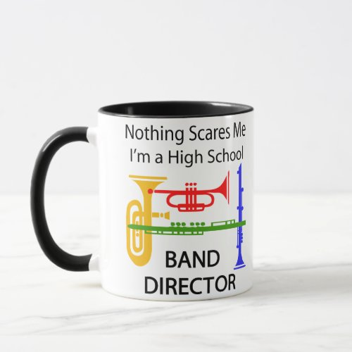 High School Band Director Mug