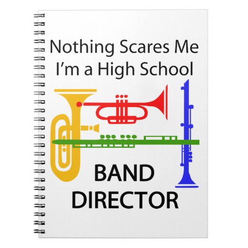 High School Band Director Notebook