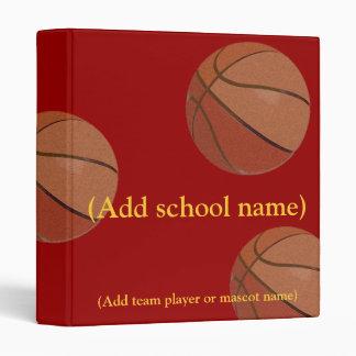 High School Basketball Binder